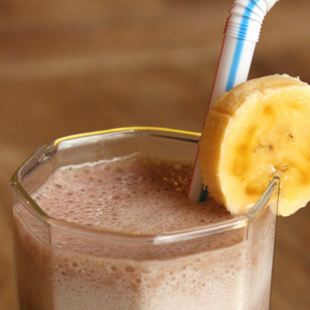 Licuado de Banana y Avena