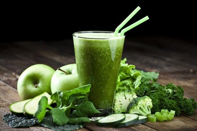 batidos verdes salud de la próstata